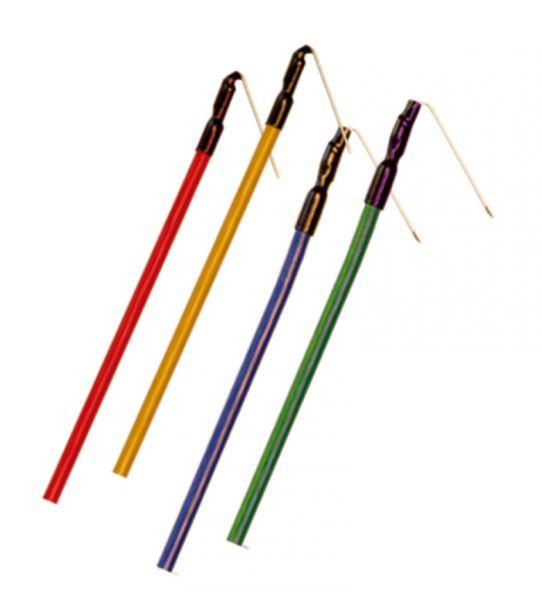 Needle electrode monopolar - steel - uninsulated