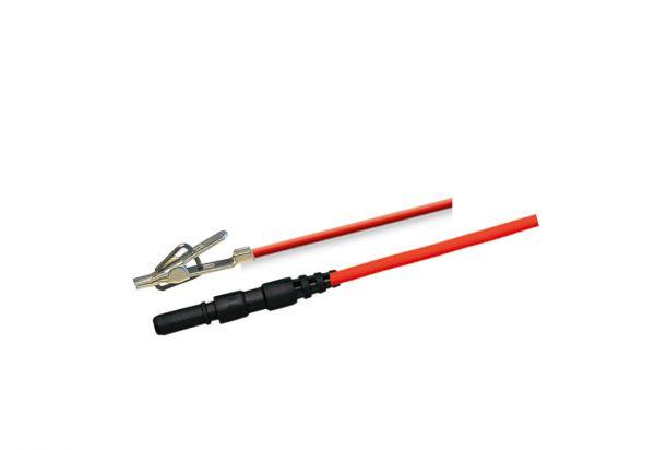 Mini-aligator clip cable