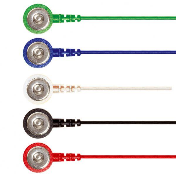 Press stud cable - color mix